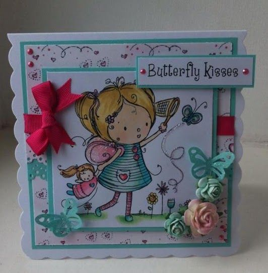 angel4031 for Crafter's Companion - Rachelle Anne Miller CD ROM Stamps coloured with @Spectrum Noir