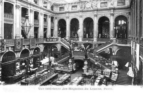 Les Grands Magasins du Louvre en 1900