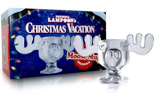 Christmas Vacation Glass Moose Mug- Drink up those yummy liquids like Clark aka like a boss