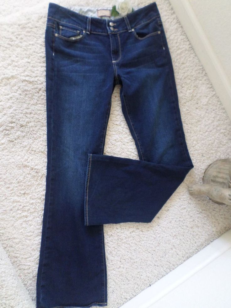 PAIGE WOMEN RELAXED HH BOOT JEANS 30~PAIGE WOMENS HHBOOT 30~EUC #PaigeDenim #BootCut
