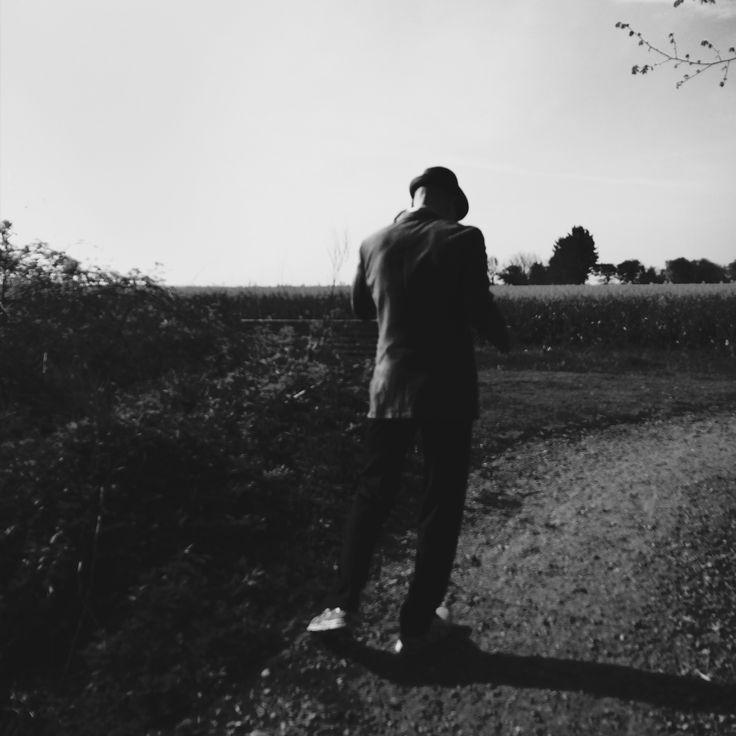 Kunstneren på vandring  #perpardorf foto: #jeannettepardorfs