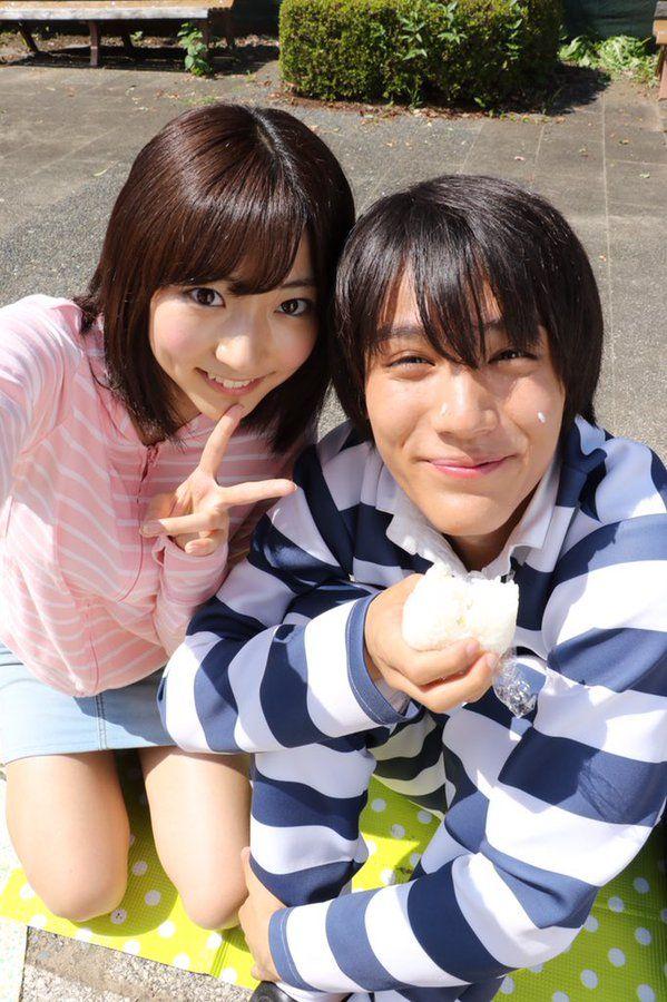 """Taishi Nakagawa x Rena Takeda, J LA drama series, """"Kangoku Gakuen (Prison School)"""" Oct - Dec/2015"""