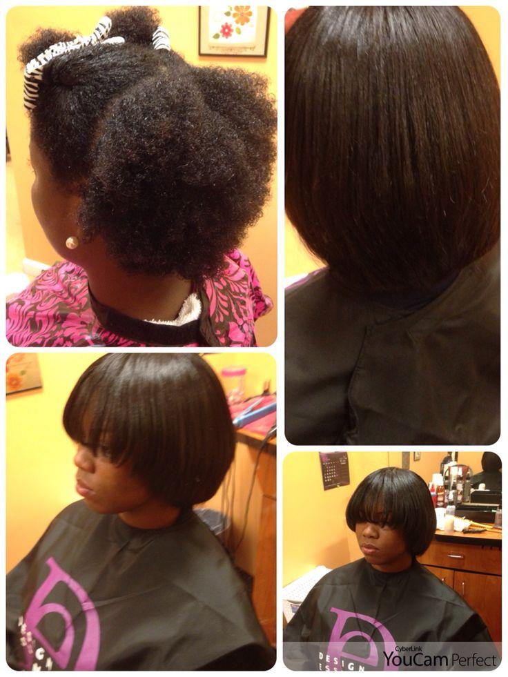 Blowout And Silk Pressed All Natural Hair Natural Hair