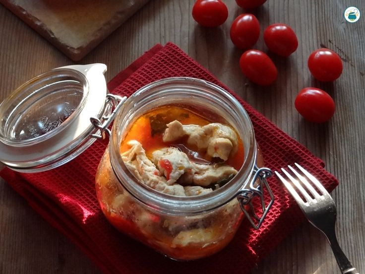 Pollo+alla+pizzaiola+in+vaso+cottura/+ricetta+a+vapore