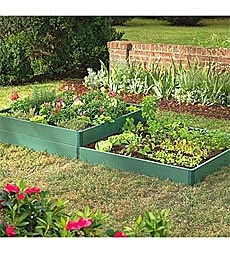 Raised Bed Kits mean less weeding and more produce in a small amount of space.