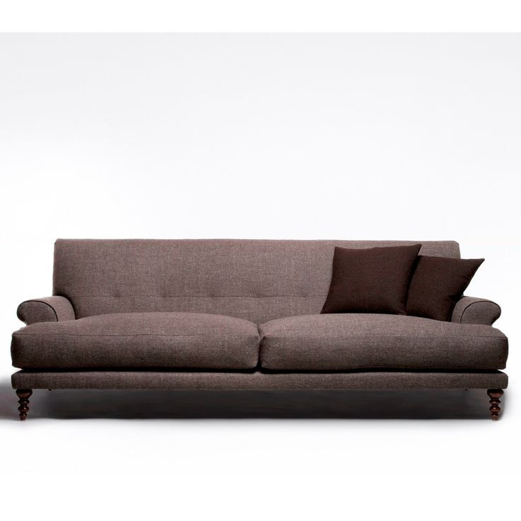 Modern Twist On Tradition: Oscar Sofa By Matthew Hilton. Love The Modern Twist On A