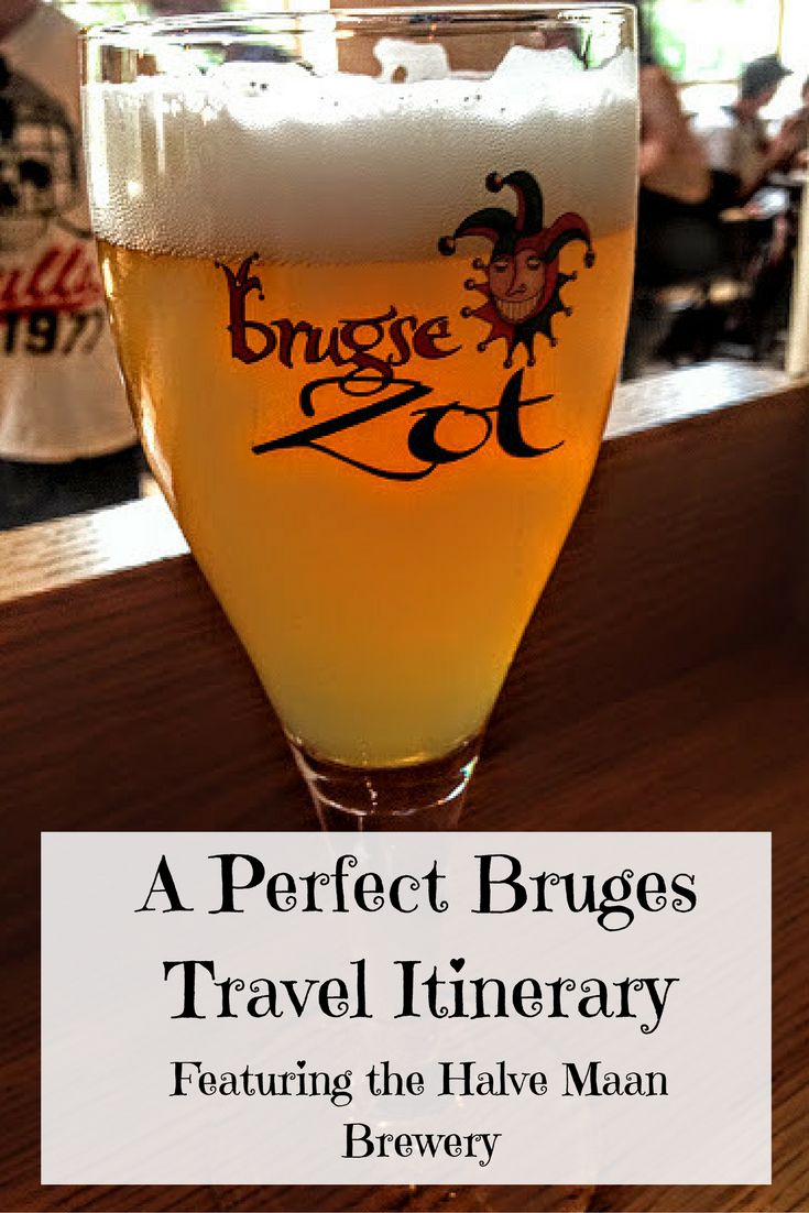 Find out how to have a perfect travel itinerary in Bruges, Belgium, including museums, harp concerts, and the famous Halve Maan Brewery!
