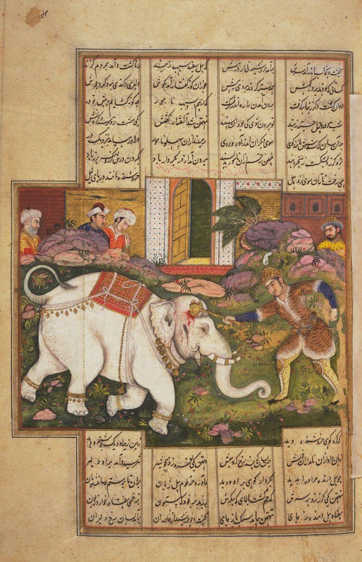 Rustam slays White Elephant