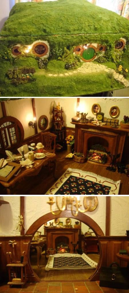 Bag End as a dollhouse