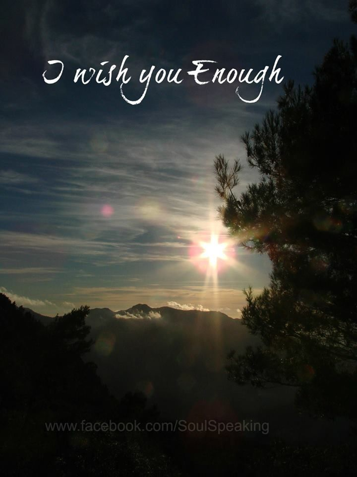 I wish you enough! by Bob Perks #Quote #Mantra