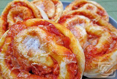 Pizzás Csiga – Wescher.hu