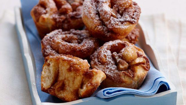 Banana, peanut butter & cinnamon swirls sent in by Jill Ulbrich, Launceston, Tas.