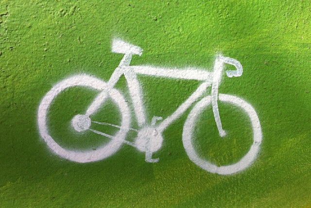 bicicleta. buenos aires, argentina
