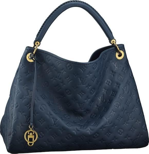 Louis Vuitton Monogram Empreinte Artsy MM  http://www.louisvuitton.eu/front/#/eng_E1/Collections/Women/Handbags/products/Artsy-MM-MONOGRAM-EMPREINTE-M93448