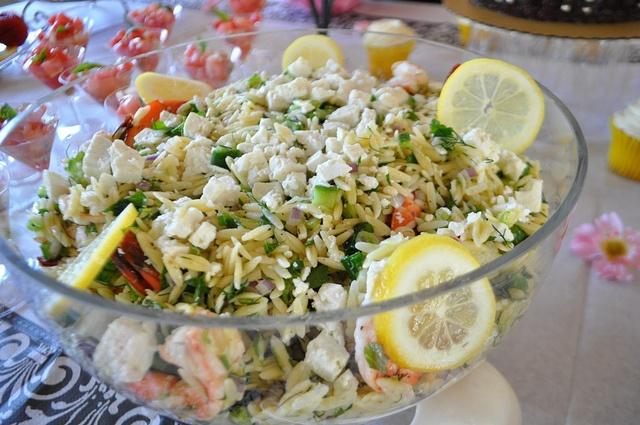 Barefoot Contessa Orzo Shrimp Salad Dine Pinterest