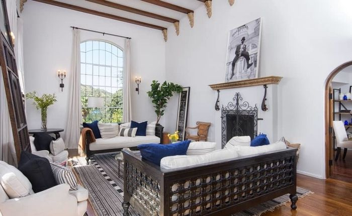 Find The Perfect Hollywood Hills Spanish Villa For Sale In