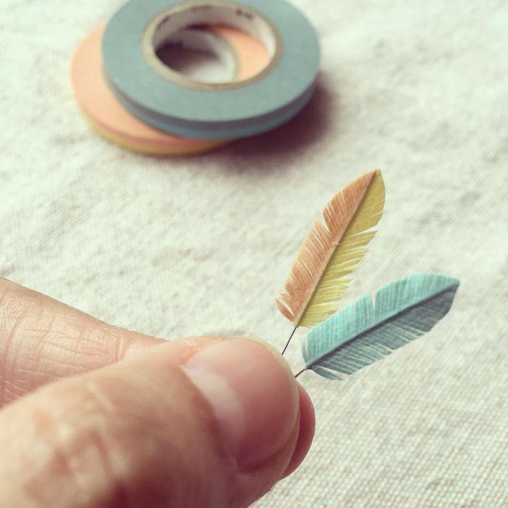 アクセにも使えそう!マスキングテープで作る羽根が超オシャレ♡ | CRASIA(クラシア)