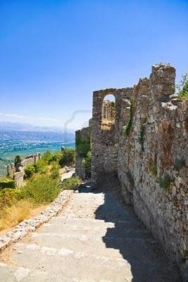 Mystras, Griekenland / Greece - Archeologie