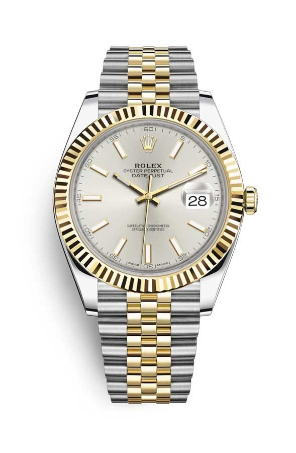 Rolex Oyster Perpetual Datejust 41 Stainless Steel & 18K Yellow Gold Men's Watch