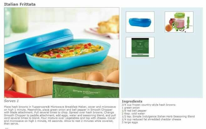 tupperware omelette maker instructions