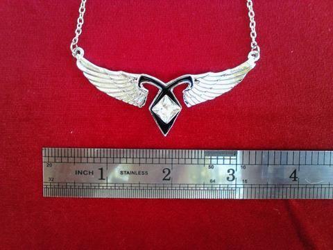 Angel Wings Power Rune Pendant