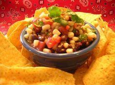 THE BEST Cuban Recipes and Cuban Food!: Picante Salsa De Frijol Negro (Spicy Black Bean Salsa)