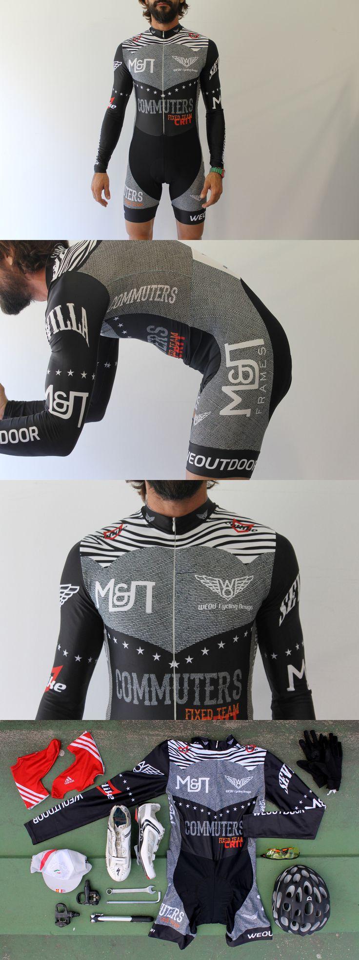 We Outdoor – Commuter Fixed Skinsuit http://weoutdoor.cc/