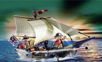 Playmobil Βρετανικό Πολεμικό Πλοιάριο (5140)29.99