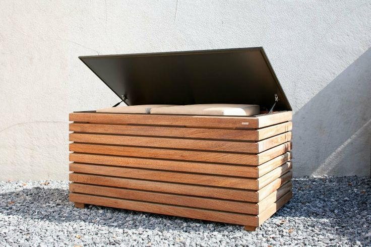 Conmoto Kissentruhe FORTE Meranti-Holz 64x130x72: Amazon.de: Küche & Haushalt