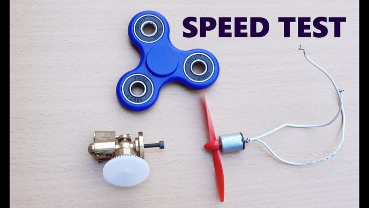 Fidget Spinner vs Steam Engine vs Magnet Motor Speed TEST!