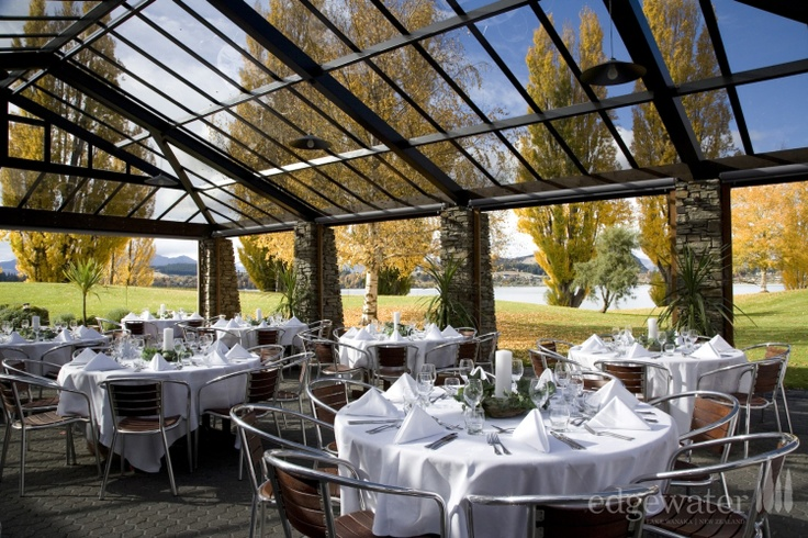 Unique wedding venue on the Wanaka lakefront. http://www.edgewater.co.nz/resort/weddings/