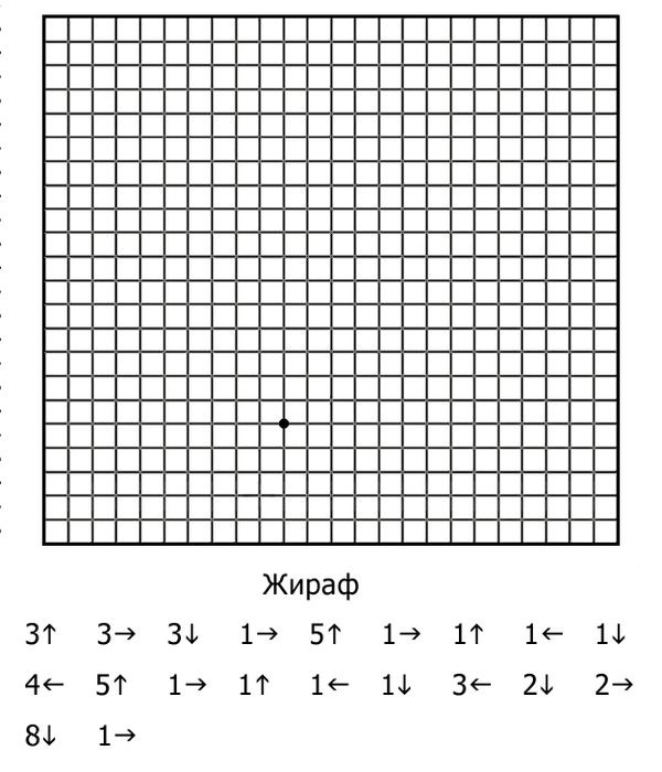 graphic dictation graficheskiy-diktant