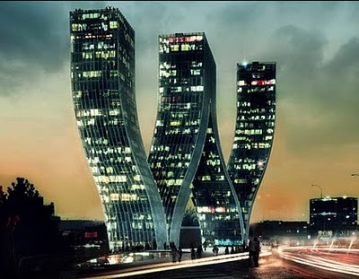 This Building Is Located In Prague, Czech Republic. Designed By Danish  Architects Bjarke Ingels Groupu0027s, The Walter Towers Look Stunning. But  Would You Live ...