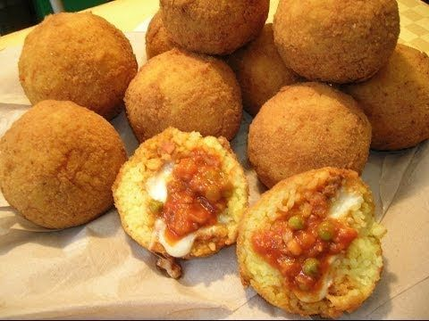 Arancini Siciliani - YouTube