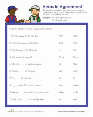 Verb Practice