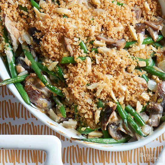 Green bean casserole, Green beans and Bean casserole on Pinterest