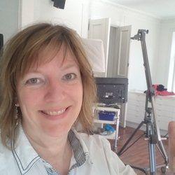 Katrine Gjærum fra Census Film er klar for første videoshoot i BoosTalk Studios!