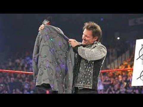 An apologetic Dean Ambrose gives Chris Jericho a new jacket: Raw, April ...