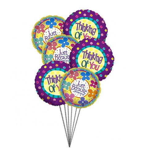 Remind your friend that you are thinking of him/her by sending #balloons