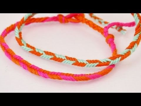 DIY Armband mit Pfeilmuster | Einfaches Fischgrät-Armband selber machen…
