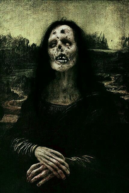 First we had the Mona Lisa... Now we have the Mona Creepy!!!!