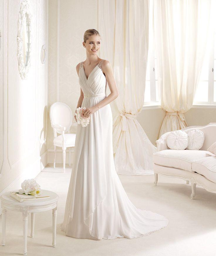 Popular La Sposa presents Iadonne style from Fashion collection La Sposa Aline Wedding DressesWedding
