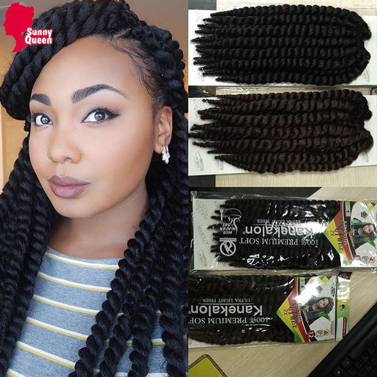 Crochet Braids Hair Braiding Hair 80g/pcs Crochet Hair Extensions Braiding Hair 12'' Synthetic Havana Mambo Twist Crochet
