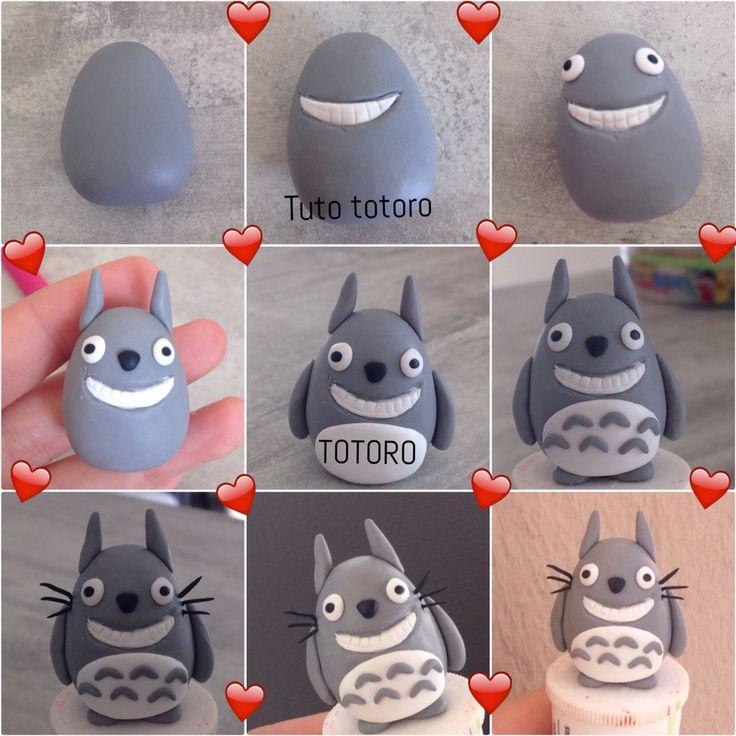 DIY Tuto de totoro en Fimo