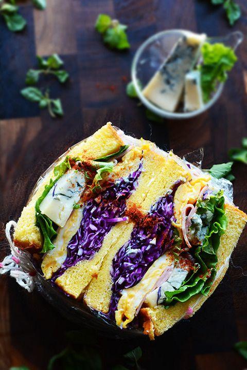 紫キャベツわんぱくサンド