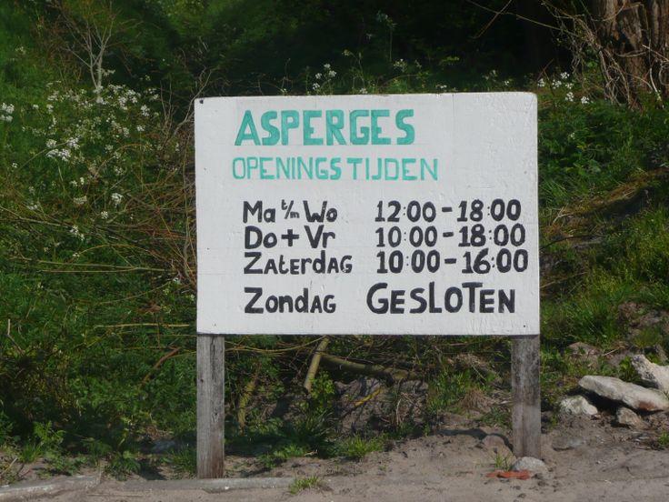 Asperges dus...