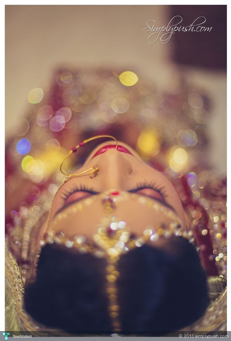 Indian Bride by www.simplypush.com - Photography by simplypush com in Weddings at touchtalent