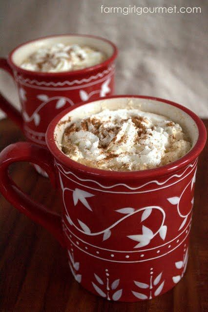 Homemade Pumpkin Spiced Latte - Farmgirl Gourmet