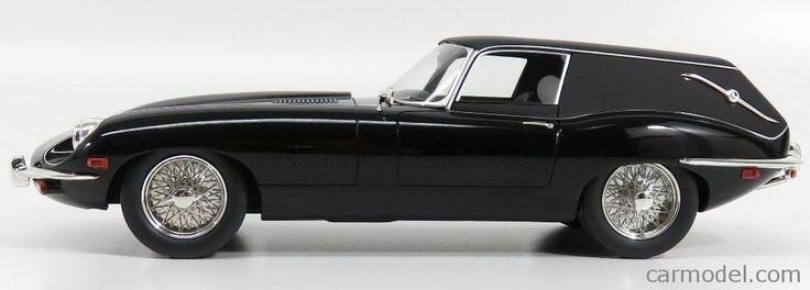 SCHUCO 00920 Scale 1/18  JAGUAR E-TYPE HAROLD AND MAUDE - FUNERAL CAR - CARRO FUNEBRE 1967 BLACK