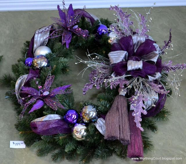 Christmas Decorations In Purple: Christmas Decorating Tips From A Designer